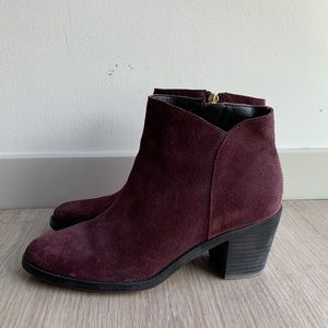 Lands End Suede Ankle Boots